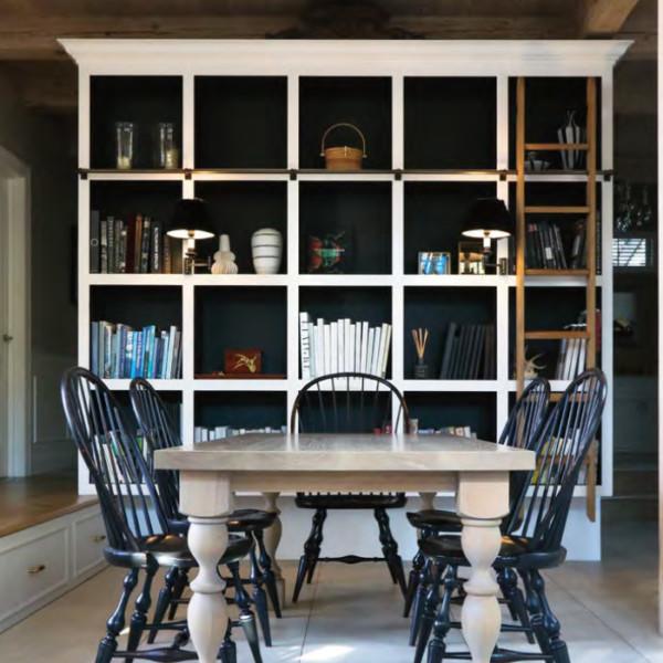Monochrome Library Cabinet