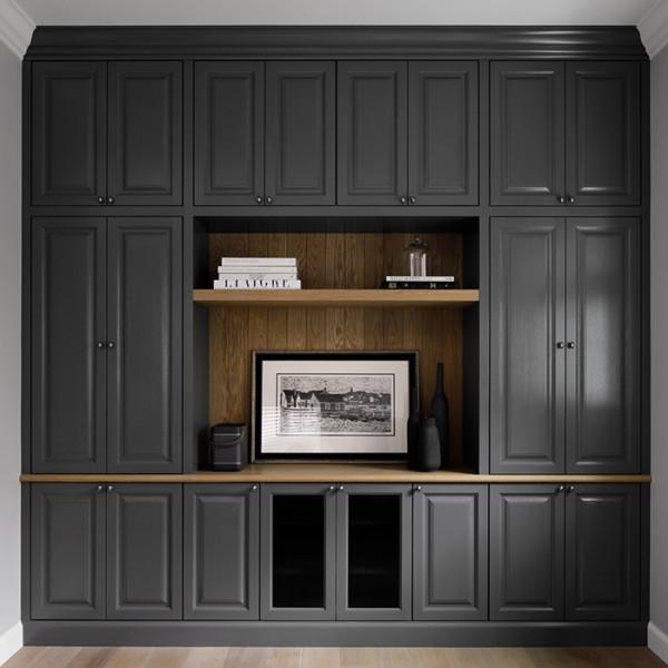 Grey Oak Media Cabinet