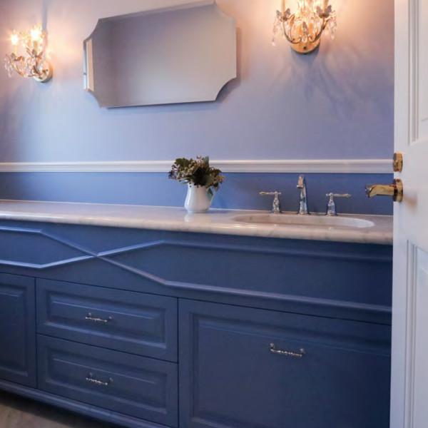 Wedgwood Blue Vanity