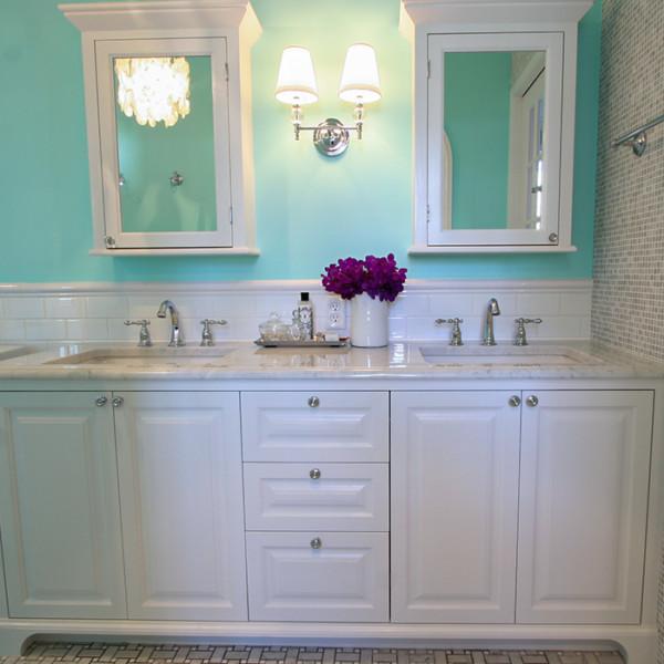 Tiffany Blue Vanity & Medicine Box