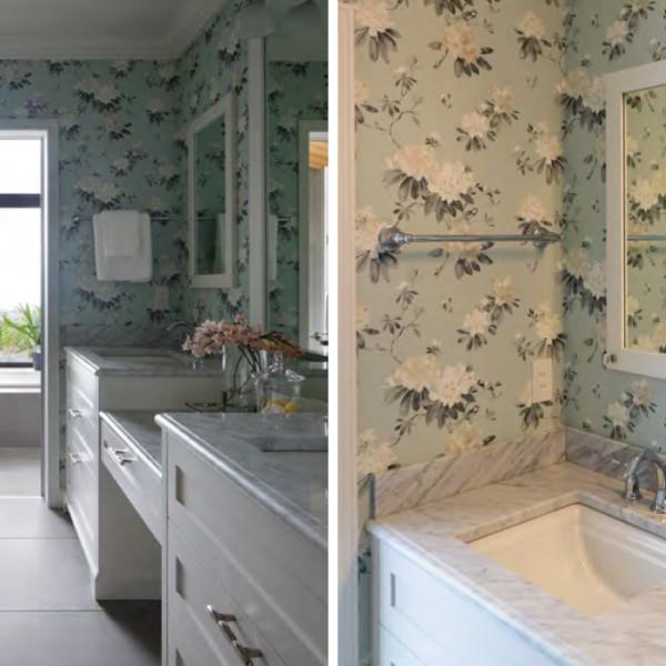 Rhodera Silver Bathroom Vanity