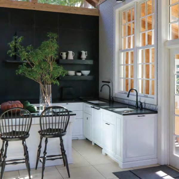 Konara House White Kitchen