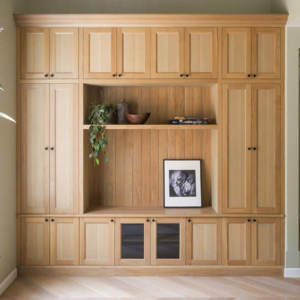Spring Oak Media Cabinet