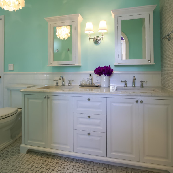 Tiffany Blue Vanity & Medicine Box