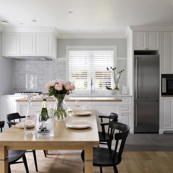 Silver Peony Kitchen